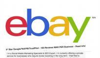 太嚣张了,不良商家公然在eBay上贴出刷假评服务!