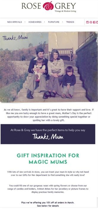 母亲节电商品牌营销案例,看看老外都有哪些妙招?